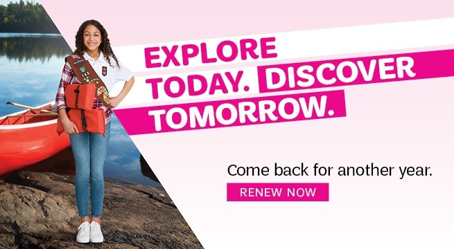 Explore Today. Discover Tomorrow. Come back for another year. Renew Now